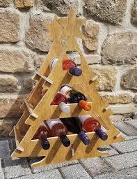 tree wine rack creative woods