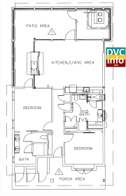 cabin floorplan dvc files copper creek villas and cabins details dvcinfo