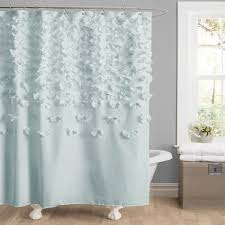 Anthropologie Ruffle Shower Curtain by Curtains Anthropologie Shower Curtain Ebay Urban Outfitters