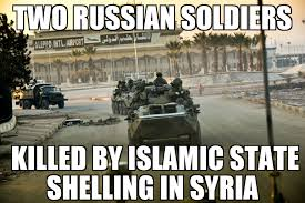 Russian Army Meme - two russian soldiers killed in syria memenews