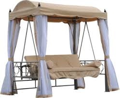 Swing Bed With Canopy Top 7 Canopy Porch Swings Of 2017 Video Review
