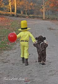 curious george halloween costume a curious halloween sew a little seam