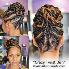 twisted bun hairstyle on african american bad updo for when i get remarried hair styles hair care