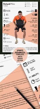 sports resume template free sport resume cv template freebies resumetemplate psdresume
