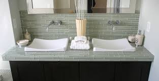 Bathroom Backsplash Mosaic Glass Mosaic Tile Mural Waterfalls - Tile backsplash bathroom