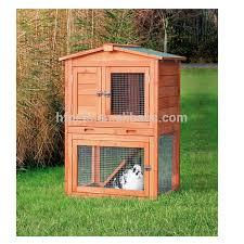 outdoor wooden house cheap double decker rabbit hutch buy double