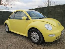 volkswagen cars beetle used volkswagen beetle yellow for sale motors co uk