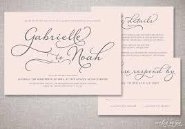 handwritten wedding invitations beautiful script gabrielle wedding invitations suite