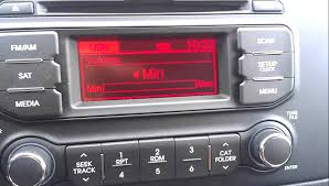 the stock stereo of the new 2013 kia rio my review youtube