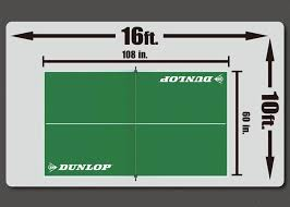 table tennis conversion top dunlop official size table tennis conversion top md sports