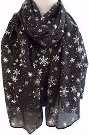 a large red scarf with a snowman pattern long and wide light