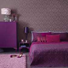 Pink And Purple Room Decorating by Chocolate Brown And Purple Bedroom For Elegant Decorating Ideas