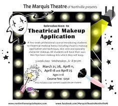 theatrical makeup classes 2018 theatrical makeup classes march 21 april 25 ages 11 18
