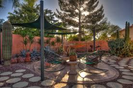 backyard with fire pit landscaping ideas desert backyard landscaping google search home pinterest