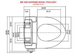 Bio Bidet Bb 1000 Supreme Bio Bidet Bb 1000 Supreme Deska Sedesowa Z Bidetem Instalatorek Com Pl