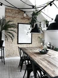 Chaise Industrielle Métal Noir Antique Déco Industrielle Les 25 Meilleures Idées De La Catégorie Salles à Manger Sur