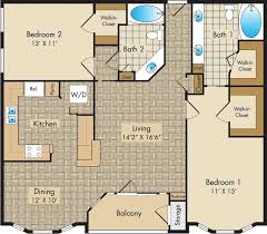 in apartment floor plans floor plans the liberty place apartments