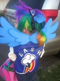 Pony Rainbow Dash Halloween Costume 75 Pony Costume Images Costume Ideas