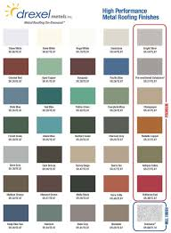 Shades Of Purple Chart by How To Pick The Right Metal Roof Color Consumer Guide 2017