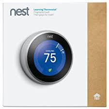 target black friday nest thermostats nest learning thermostat 3rd generation stainless steel works