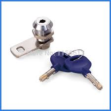 cabinet keyed cam lock 10 pieces 17mm high security keyed alike brass pin key cam lock file