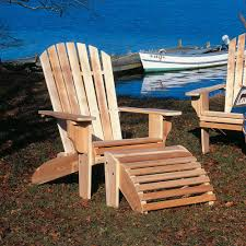 Adarondak Chair Cedar Oversized Adirondack Chair Dfohome