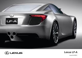 lexus coupe 2007 lf a 2007 concept toyota uk media site