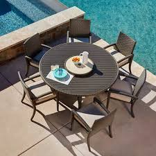 patio dining table set outdoor patio dining sets costco