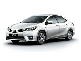 toyota price toyota corolla altis price review mileage features specifications