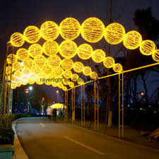 china outdoor led street decoration large outdoor christmas