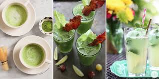 14 green drink recipes for st s day green cocktail ideas