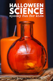 halloween science spooky fun for kids left brain craft brain