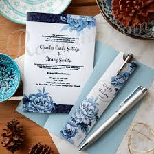 wedding souvenir china blue invitation pen souvenir rasacinta wedding souvenirs