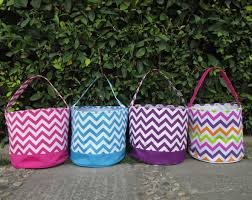 personalized easter baskets for kids wholesale kids chevron easter multi colored chevron easter