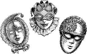 vintage masks venetian vintage masks stock photo image 47232351