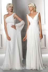Grecian Wedding Dresses Hervé Mariage Wedding Dresses 2012 Wedding Inspirasi