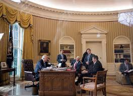 Trump Oval Office Decoration Watching Cable News In A Bathrobe And Holding Meetings In The Dark