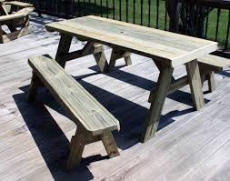 spectacular wooden patio table and benches tags outdoor bench