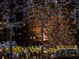 how to put lights on a tree outside best christmas lights nyc has to offer plus festive attractions