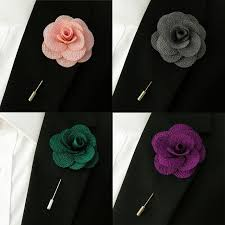 lapel flowers mens lapel flowers assorted silk blend fashion handmade