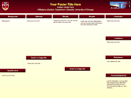 university of chicago powerpoint template posters scholarship