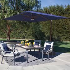 10 Ft Offset Patio Umbrella Outdoor 10 Foot Offset Umbrella Brown Patio Umbrella Poolside