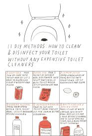 11 green u0026 inexpensive diy solutions for cleaning your toilet