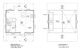 16 x 24 floor plan plans by davis frame weekend timber