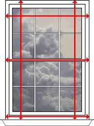 Blinds Outside Of Window Frame How To Measure Window Made To Measure Horizontal Blind How To