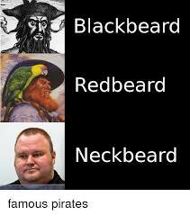Neckbeard Meme - blackbeard redbeard neck beard beard meme on me me