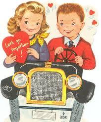 Car Decoration For Valentine S Day by Strange Vintage Valentines Vintage Valentines Vintage And