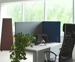 Privacy Screens by Separate Space And Control Acoustics With Work Forts Desktop