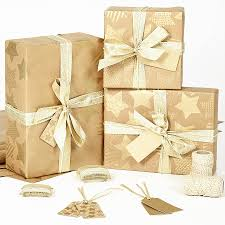 and gold christmas wrapping paper gold brown wrapping paper by