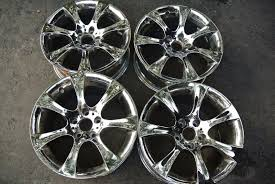 replica bmw wheels four chrome bmw 525i 528i 530i 03 04 05 06 07 08 09 2010 oem